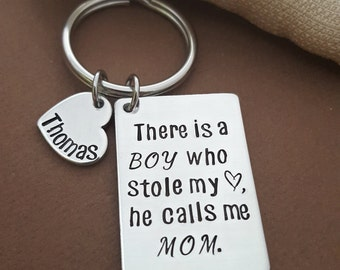 There Is A BOY Who Stole My Heart He Calls Me MOM | Gift For Mom | New Mom Gift | Mother Of Boys Gift