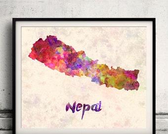 Nepal fine art etsy for Home decor nepal