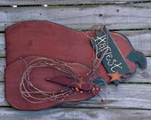 Large Primitive Harvest Pumpkins - Folk Art - Handmade - Wall Hanging or Porch Sitter - FAAP, HAFAIR, OFG, TeamHaHa