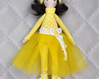 christmasinjuly Textile doll Tilda
