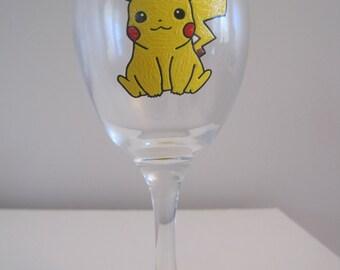 Pikachu wine glass
