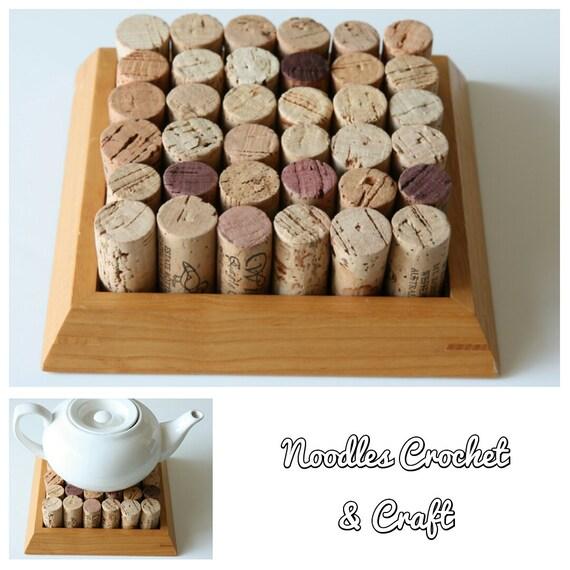 Hand Made Cork Trivet