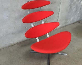 Danish Modern Corona Chair by Poul Volther (12J8PT)
