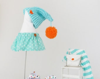 Extra set of clothes for girl Rabbit Doll, clothes fits for toys ZuzuHappyToys 14 inch, free shipping