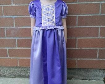 Rapunzel Dress. Tangled Dress. Girls Dress Ups. Princess Dress Ups. Princess Dress. Purple Princess Dress.