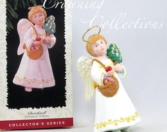 1996 Hallmark Christkindl Angel Keepsake Ornament Christmas Visitors 2nd in Series Christkind Vintage Collection