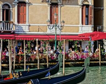 Veince Street Photography Print - Venice - Italy Street photo - Vintage Wall Art - Travel photography