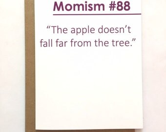 MOMISM #88 - Birthday Card