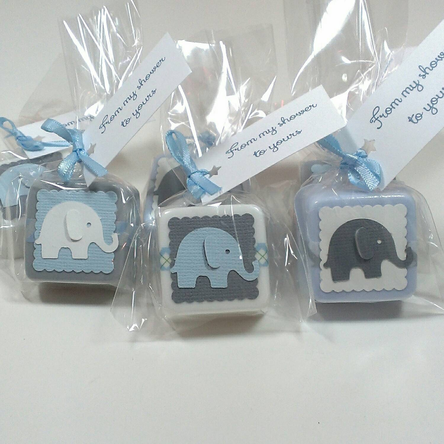 baby shower favors baby shower favors boy elephant baby. Black Bedroom Furniture Sets. Home Design Ideas
