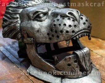 Inspired of Dragon Age cosplay Cullen Helmet game Halloween