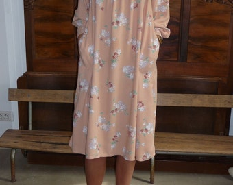 Robe fleurie 80s Taille 36-38