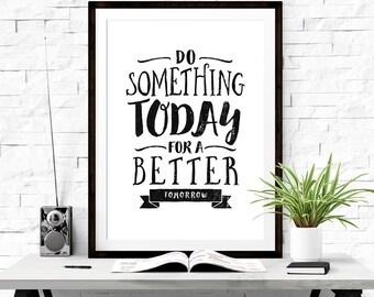 Motivational poster, Inspirational wall art, Motivational art, Quote art, Inspirational poster, Classroom poster, Positive poster