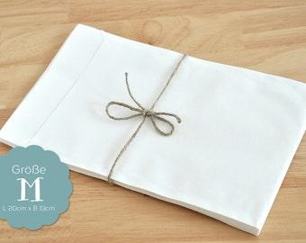 M - 13 x 20 white 20 paper bags