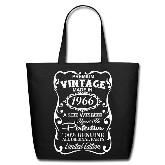 50th Birthday Gift Ideas Unique Tote Bag By JBennettCreations