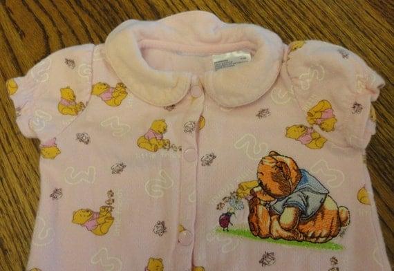 Newborn Footed Pajama Winnie The Pooh