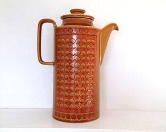 Vintage Hornsea Saffron coffee pot