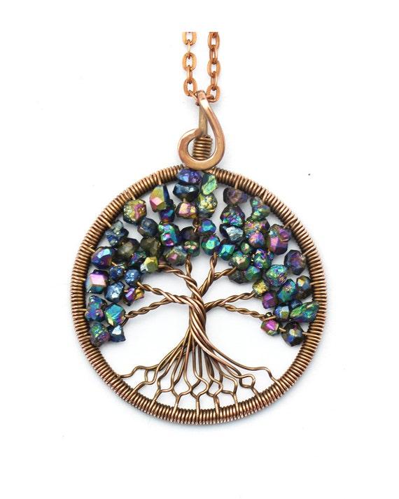 tree of pendant wire tree of tree of by kittenumka