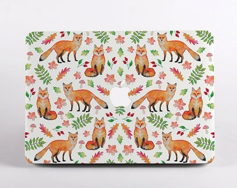 Foxes Macbook Case for all macbook cases. Hard Shell for MacBook pro, MacBook Pro Retina Display and MacBook Air