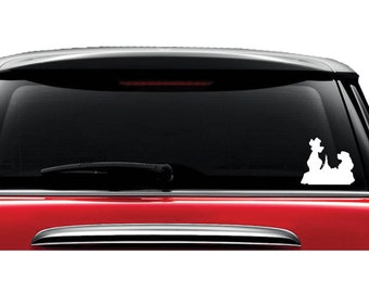 Lady and the Tramp - Decal - Car - Mac - Mug