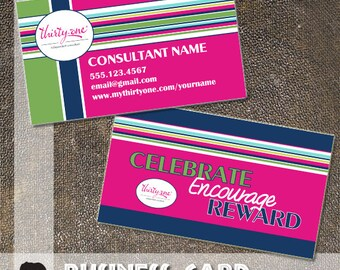 Gallery For Thirty e Business Cards