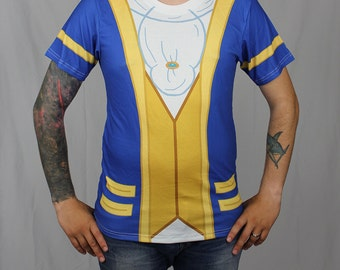 Men's Beauty and the Beast Inspired Disneybound Shirt