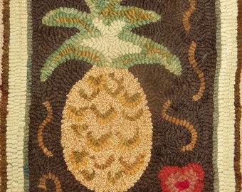 Pineapple Rug Etsy