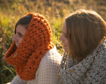 Hooded cowl/Infinity/The Rochester cowl