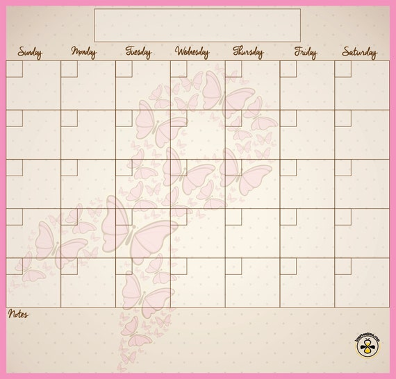 Calendar Ribbon Design : Breast cancer calendar pink ribbon fly design dry erase