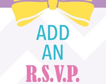 R.S.V.P. Card Add On