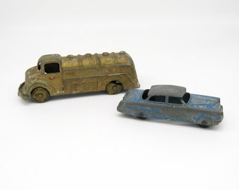 Metal Toys, Metal Toy Truck, Vintage Toys, Vintage Toy Truck, Vintage Truck, Retro Toys, Die Cast Cars, Diecast Cars, Diecast, Tootsietoy