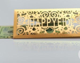 Happy Eid Money Envelope - Pack of 10