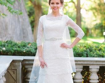 Wedding dress belt - wedding dress sash - bridal sash - rhinestone bridal belt - bridal belt - bridal dress belt -  bridal sashes and belts