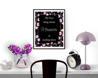 Home decor wall art, Typography wall art, Instant download printable art