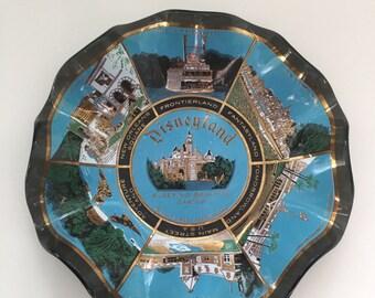 Vintage Disneyland Ashtray