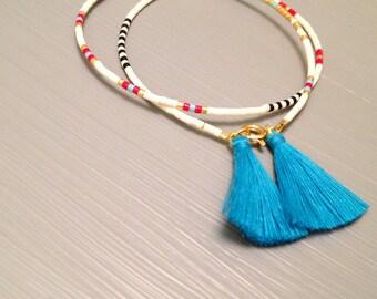 Tassel Bracelet Beaded Tassel Bracelet Beaded Bracelet Tassel Jewelry