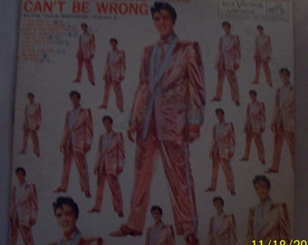 2 ELVIS records: 500,000,000 Fans Can't Be Wrong AND Elvis IN Concert