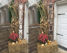 Front porch welcome sign, Front porch rustic welcome sign, Front porch distressed welcome sign, Front porch wood welcome sign, Welcome sign