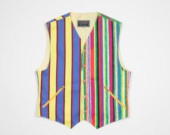 VERSACE - Multicolor cotton vest
