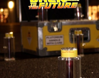 "Plutonium Canister inspired by ""Back to the Future"""