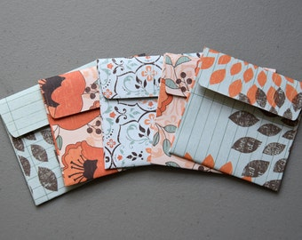 Handmade envelopes - SET OF 5