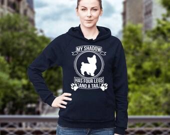 Yorkshire Terrier | Yorkshire Terrier - My Shadow... | Funny Yorkie Hoodie