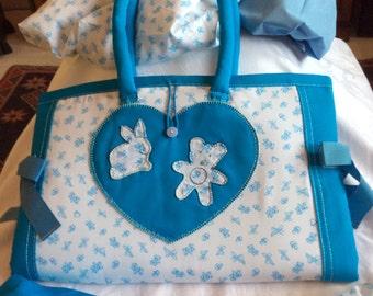 "Diaper Bag baby ""Line bears"""