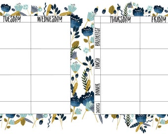 Two Page Meal Planner
