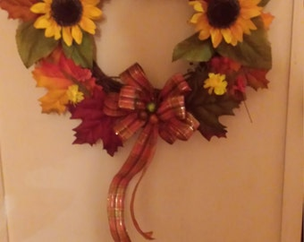 Inspirations of Fall wreath