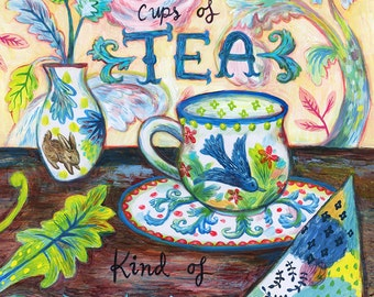 Archival Art Print- Fanciful Tea