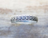 Silver Ring, sterling silver snake ring dragon ring dragonscale, Khaleesi ring