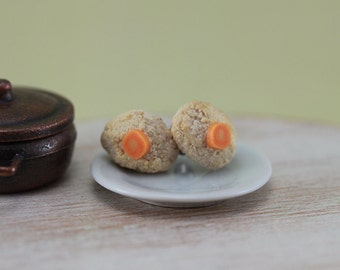 Gefilte Fish - Studs / Post Earrings