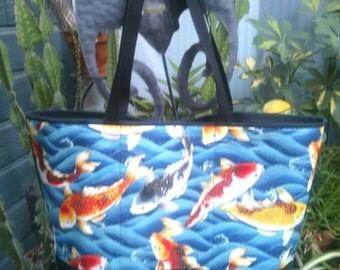 Koi Shopping or Record Bag