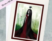 Art Greeting Card & Envelope - Fairytale - Rapunzel