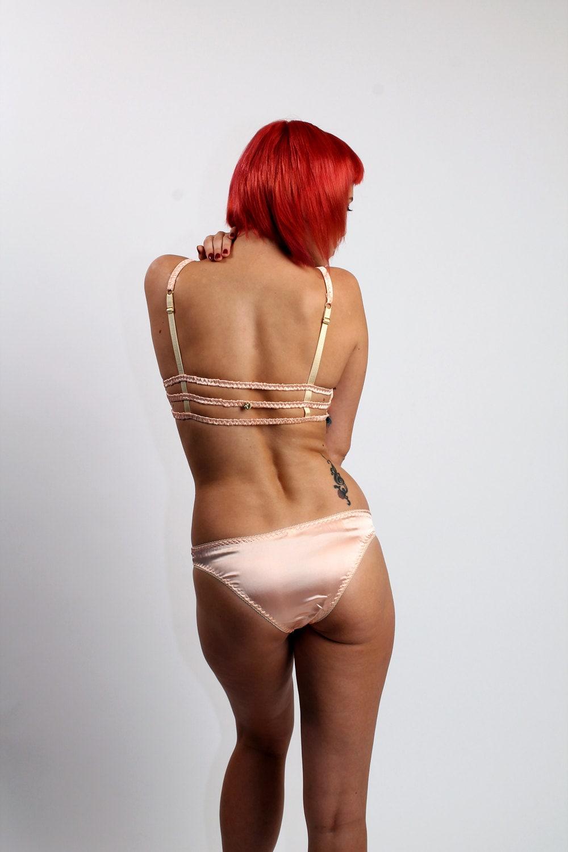 Aphrodite: Silk Satin Panties. 13 Colors.